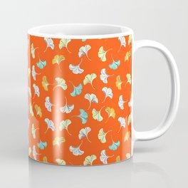 Red ginkgo leaves Coffee Mug