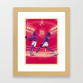 Fight Hard Framed Art Print