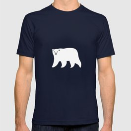 Polar Bears Pattern T-shirt