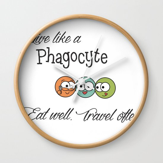 Like a Phagocyte Wall Clock