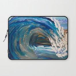 Wavy Blues 2 Laptop Sleeve