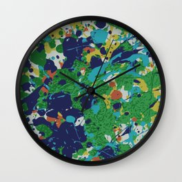 Fun with color nursery series Wall Clock