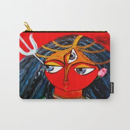 Durga, The Warrior Goddess 2: Commissioned art Carry-All Pouch