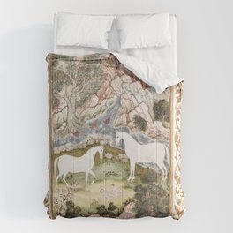 Turkish Plate during the second half of 16th century Comforters