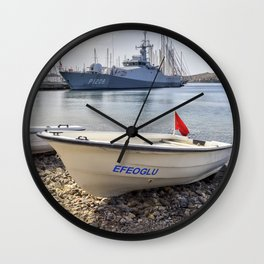When I Grow Up I Want To Be A Warship Wall Clock
