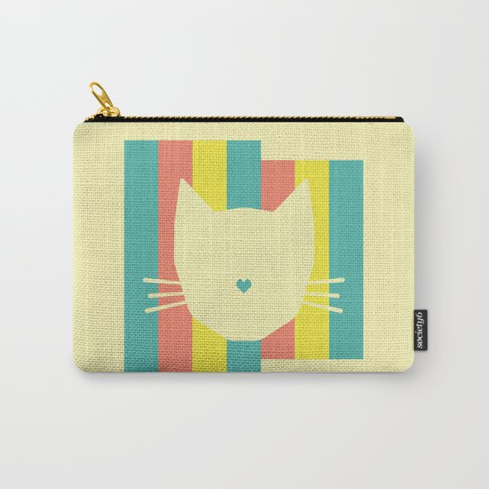 Love Cats Carry-All Pouch