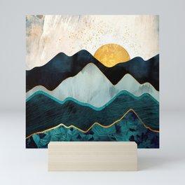 Glacial Hills Mini Art Print