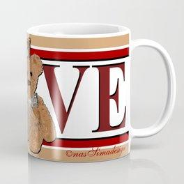 Teddy in Love Coffee Mug