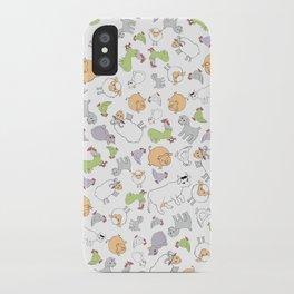 The Little Farm Animals iPhone Case