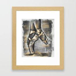Ballerina Rise Framed Art Print
