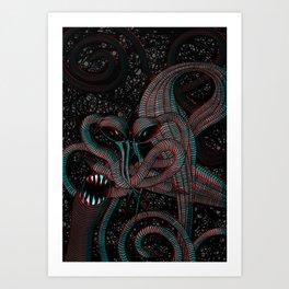 Achluophobia Art Print