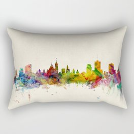 Ottawa Canada Skyline Rectangular Pillow