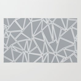 Ab Blocks Grey #2 Rug