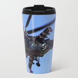 Mi-24 Helicopter Gunship Travel Mug