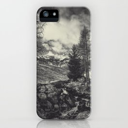 timeless mountains iPhone Case