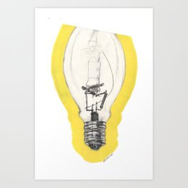 3/4 Of A Good Idea Art Print