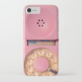 Pink Hotline iPhone Case