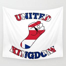 United Kingdom Fist Wall Tapestry