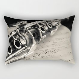 Clarinet Rectangular Pillow