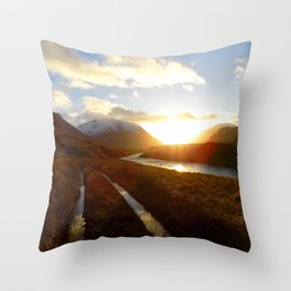Glen Etive Throw Pillow