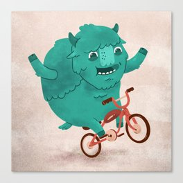 Bicycle Buffalo Canvas Print