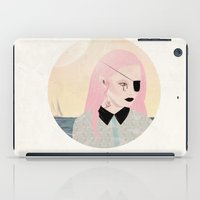 pirate iPad Cases featuring pirate by Alba Blázquez