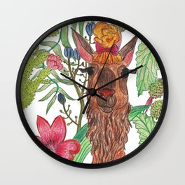 Lama Wall Clock