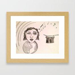 Own Beat Framed Art Print