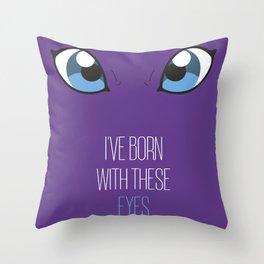 Tailmon t-shirt Throw Pillow