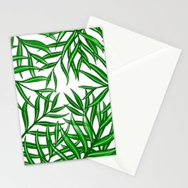 Palm Fronds in Green Mk1 Stationery Cards