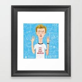 Napoleon, what do you think? Gosh! Framed Art Print