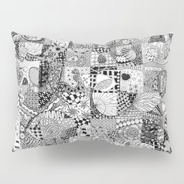 Doodling Together #2 Pillow Sham