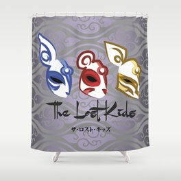 The Lost Kids Shower Curtain