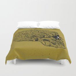 Life in Cycles Duvet Cover