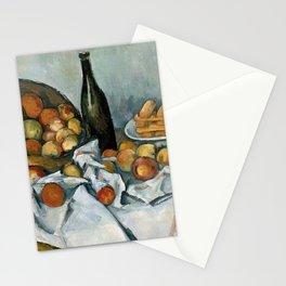 Paul Cézanne - The Basket of Apples - Le Panier de Pommes Stationery Cards