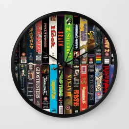 VHS Collection Wall Clock