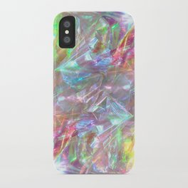 SHINY IREDESCENCE DESIGN iPhone Case