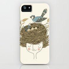 Bird Hair Day Slim Case iPhone (5, 5s)