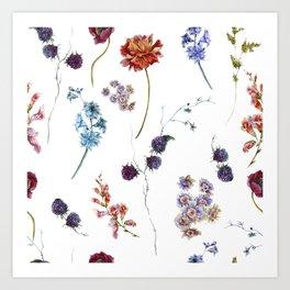 A Bounty of Joy - Flowers - Art Print
