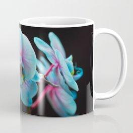 Exotic Blue Orchid Reflection Coffee Mug