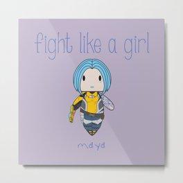 Fight Like a Girl | Maya - Borderlands Metal Print