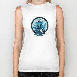 Ganesha rocks ! (v1) Biker Tank