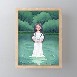 Going or Staying Framed Mini Art Print