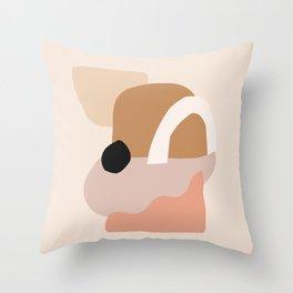 Shape Puzzle #shapeart #digitalart Throw Pillow