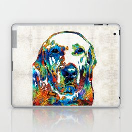 Labrador Retriever Art - Play With Me - By Sharon Cummings Laptop & iPad Skin