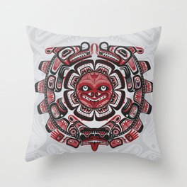 I'Hos Speaks to the Sun Throw Pillow