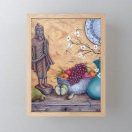Malayan Table Framed Mini Art Print