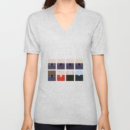 Enterprise NX-01 Crew minimalist - Star Trek Enterprise ENT- Trektangle startrek - Trektangles  Unisex V-Neck