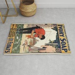 Vintage poster - Soap Rug