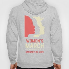 Women's March On Washington D.C January 20, 2019 Hoody